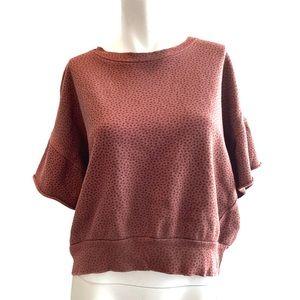 EUC NSF Revolve Short Sleeved Sweatshirt size S